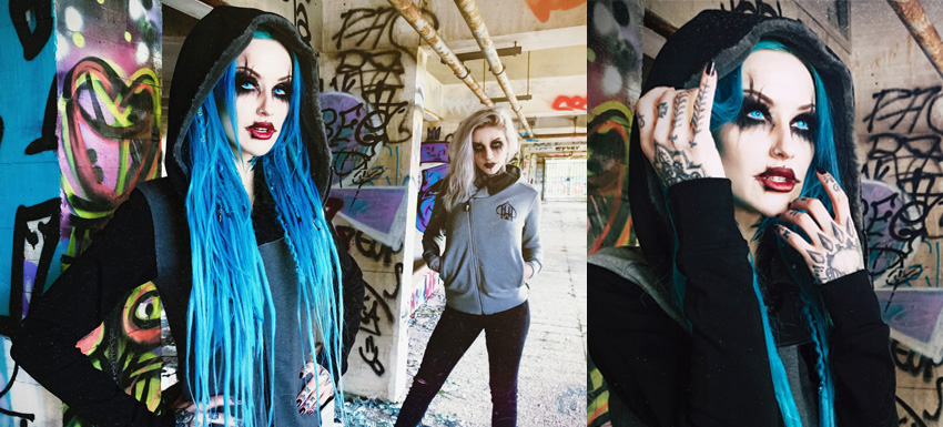 Shelly d'Inferno for Hyraw Clothing