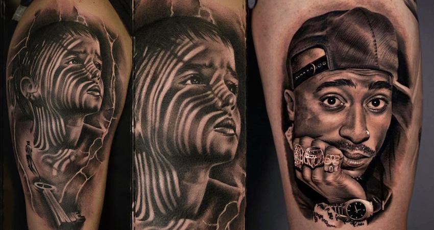 Christos Galiropoulos tattoos