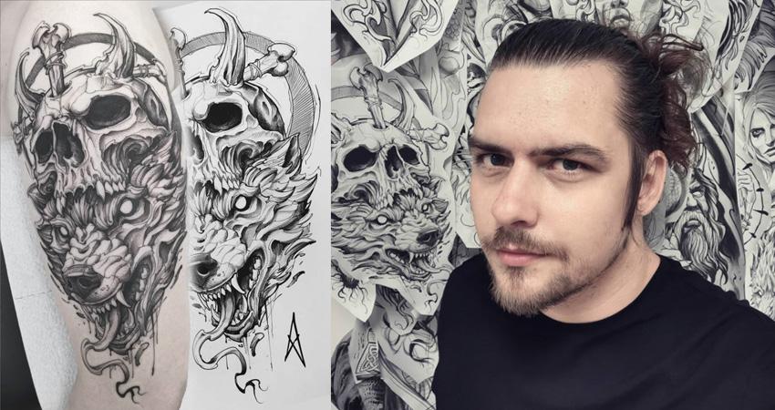 michal hadlik tattoo artist