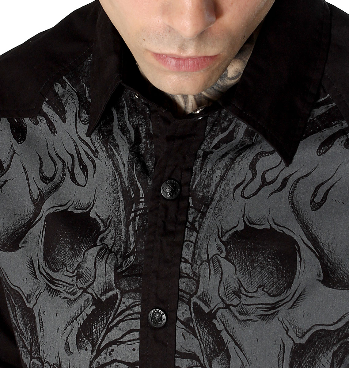 CHEMISE HOMME CEMETERY