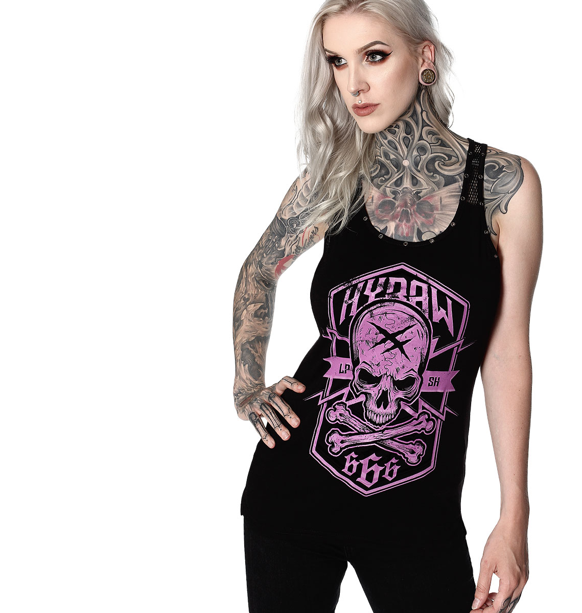 BADGE WOMENS TANK