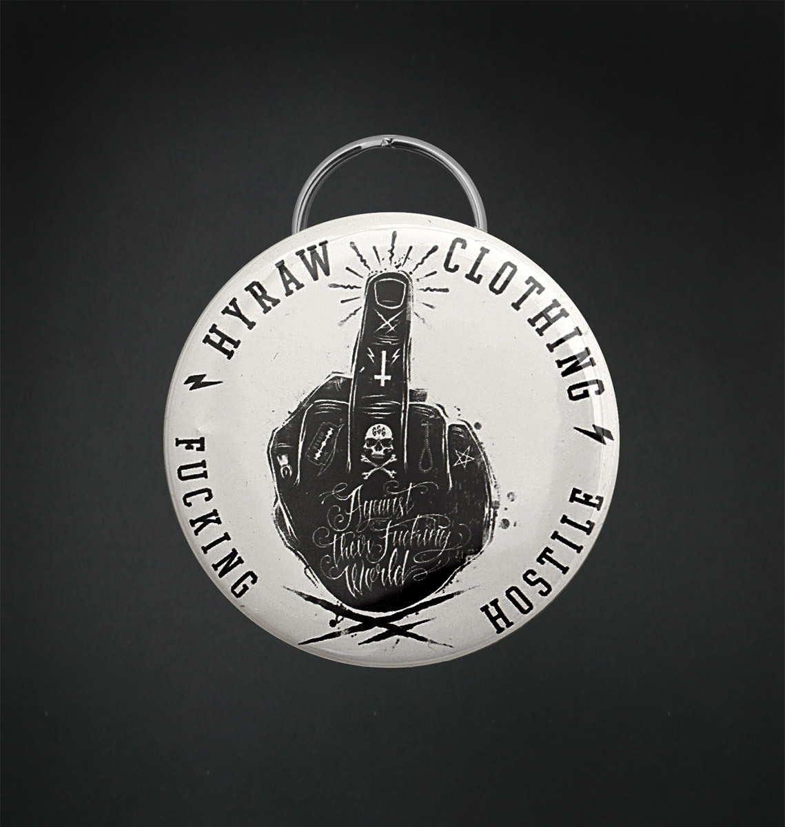 Badge decapsuleur 56 MM / FUCK