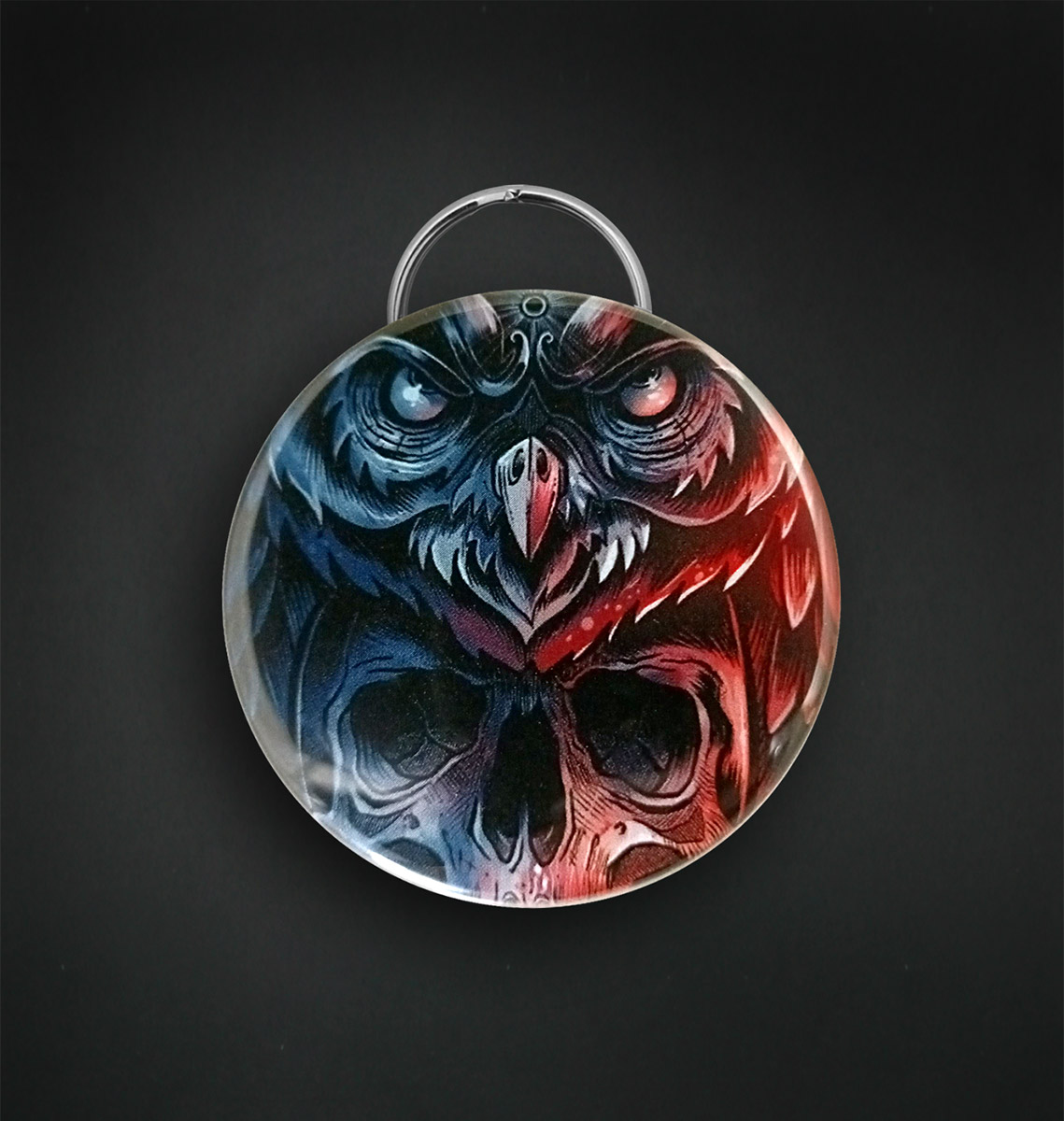 Badge decapsuleur 56 MM / DEAD OWL