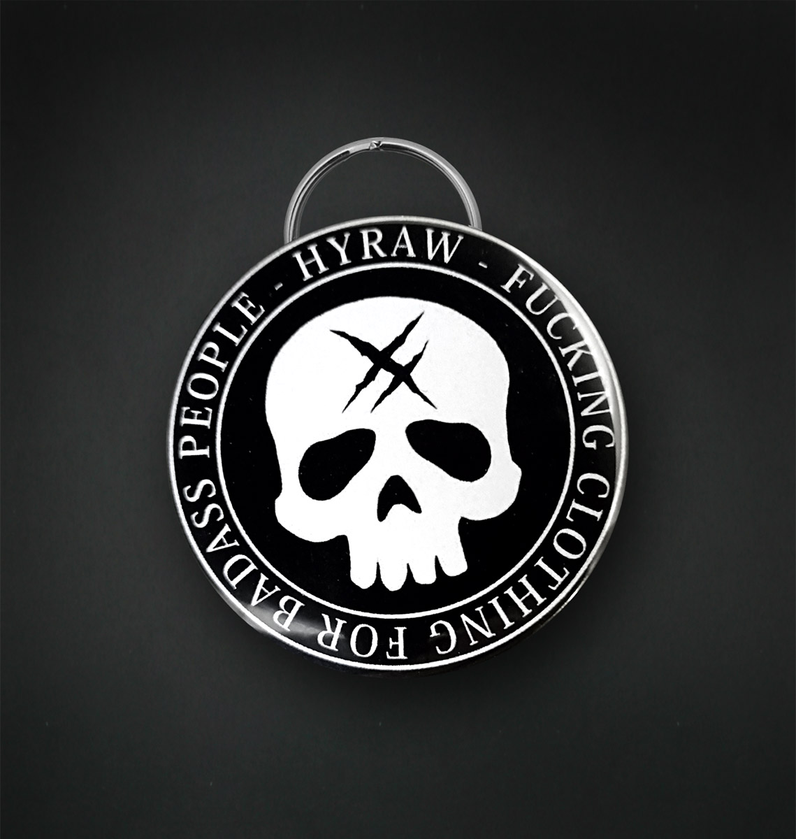 Badge decapsuleur 56 MM / DEATH SHADOW