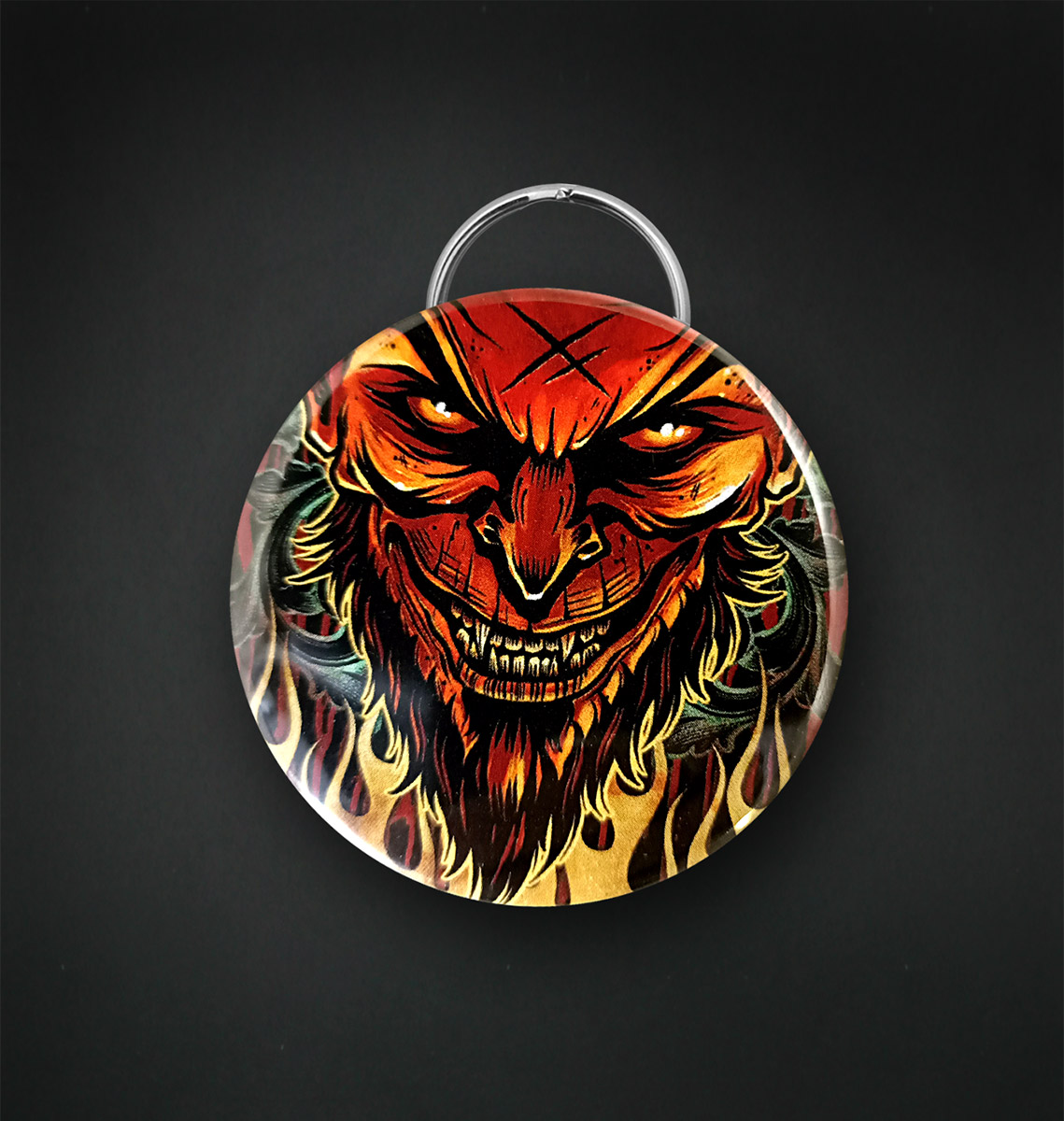 Badge decapsuleur 56 MM / LUCIFER