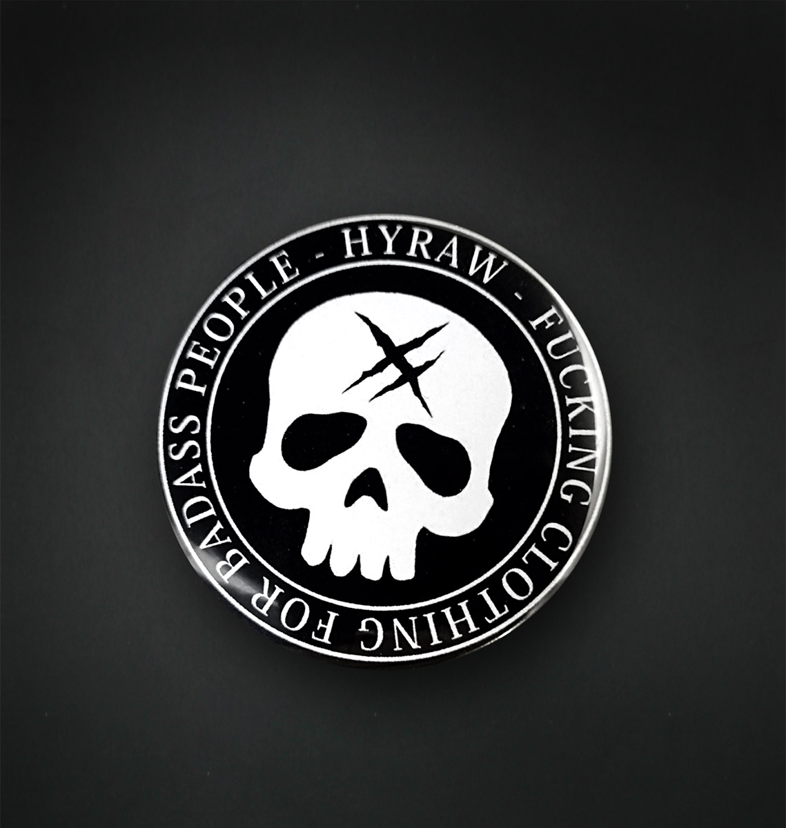 Badge miroir 56 MM / DEATH SHADOW