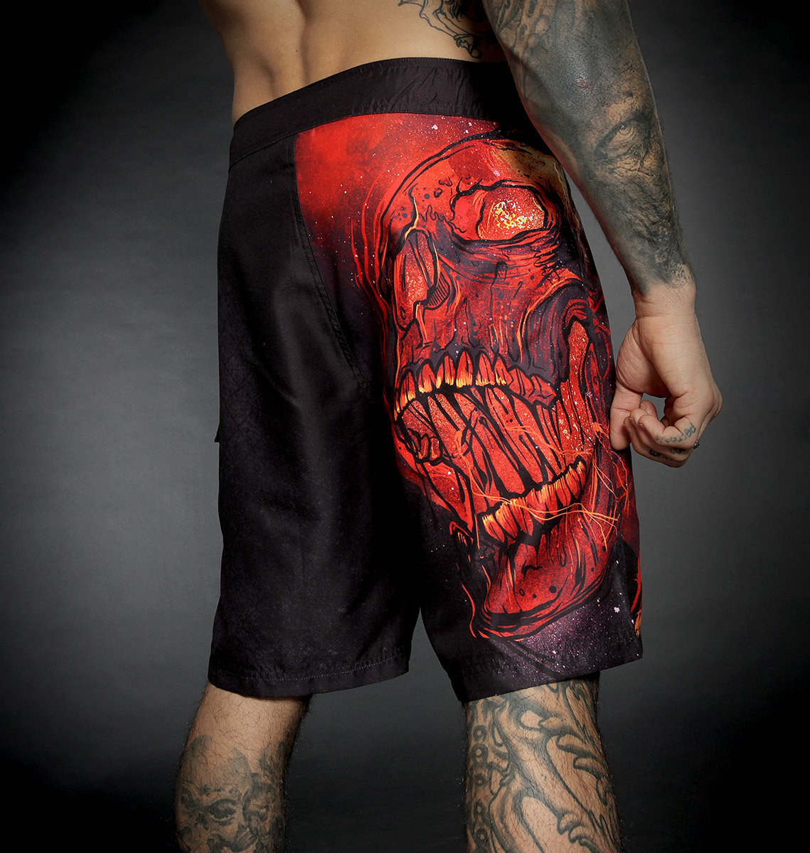 BOARDSHORT BURN IN HELL