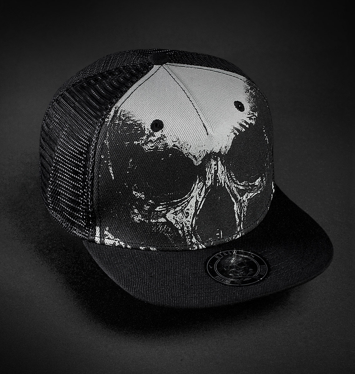 CASQUETTE DEATH FILET