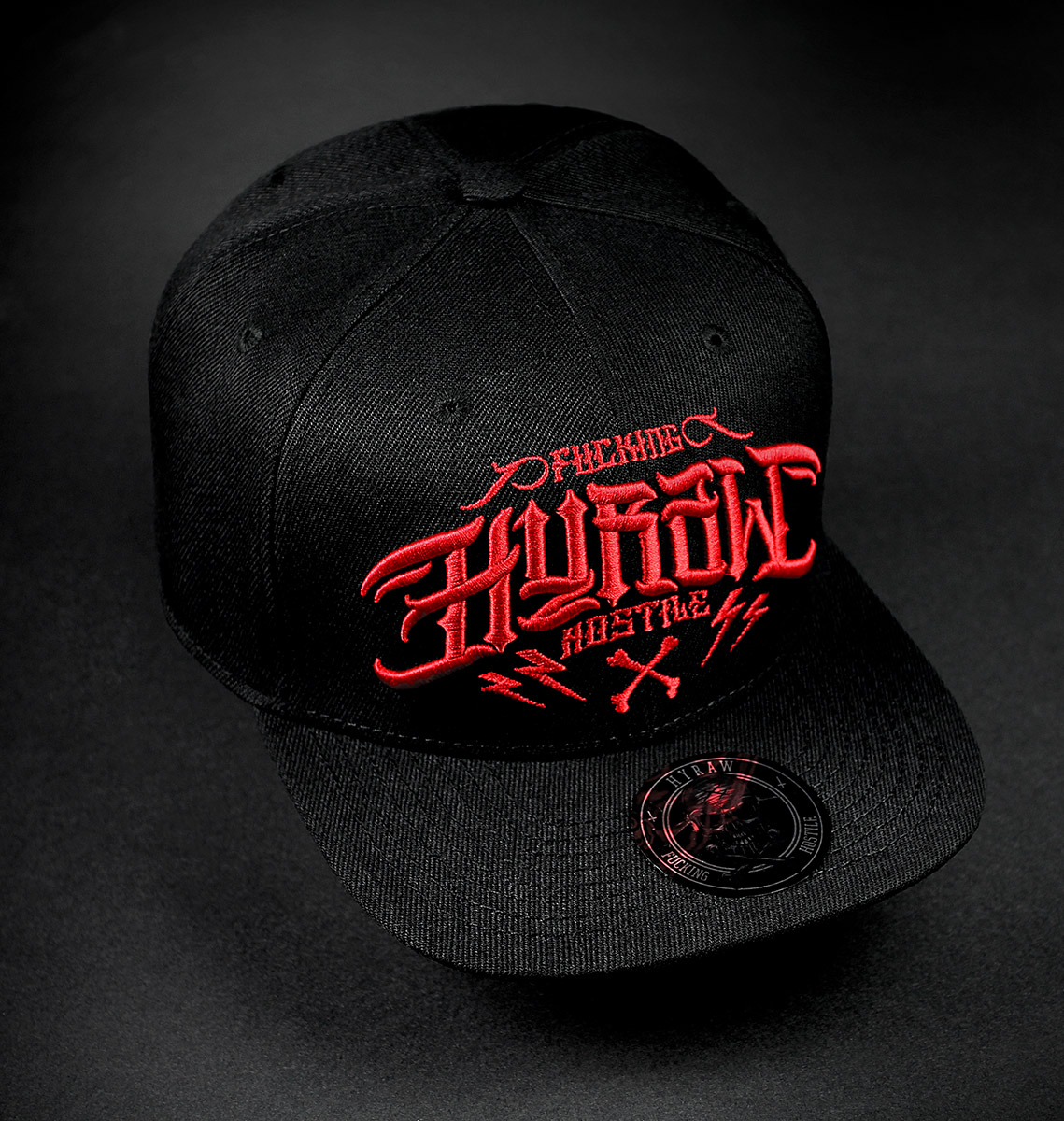 CASQUETTE - HOSTILE RED