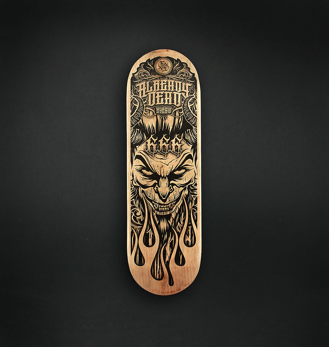 SKATE LUCIFER BLACK 40