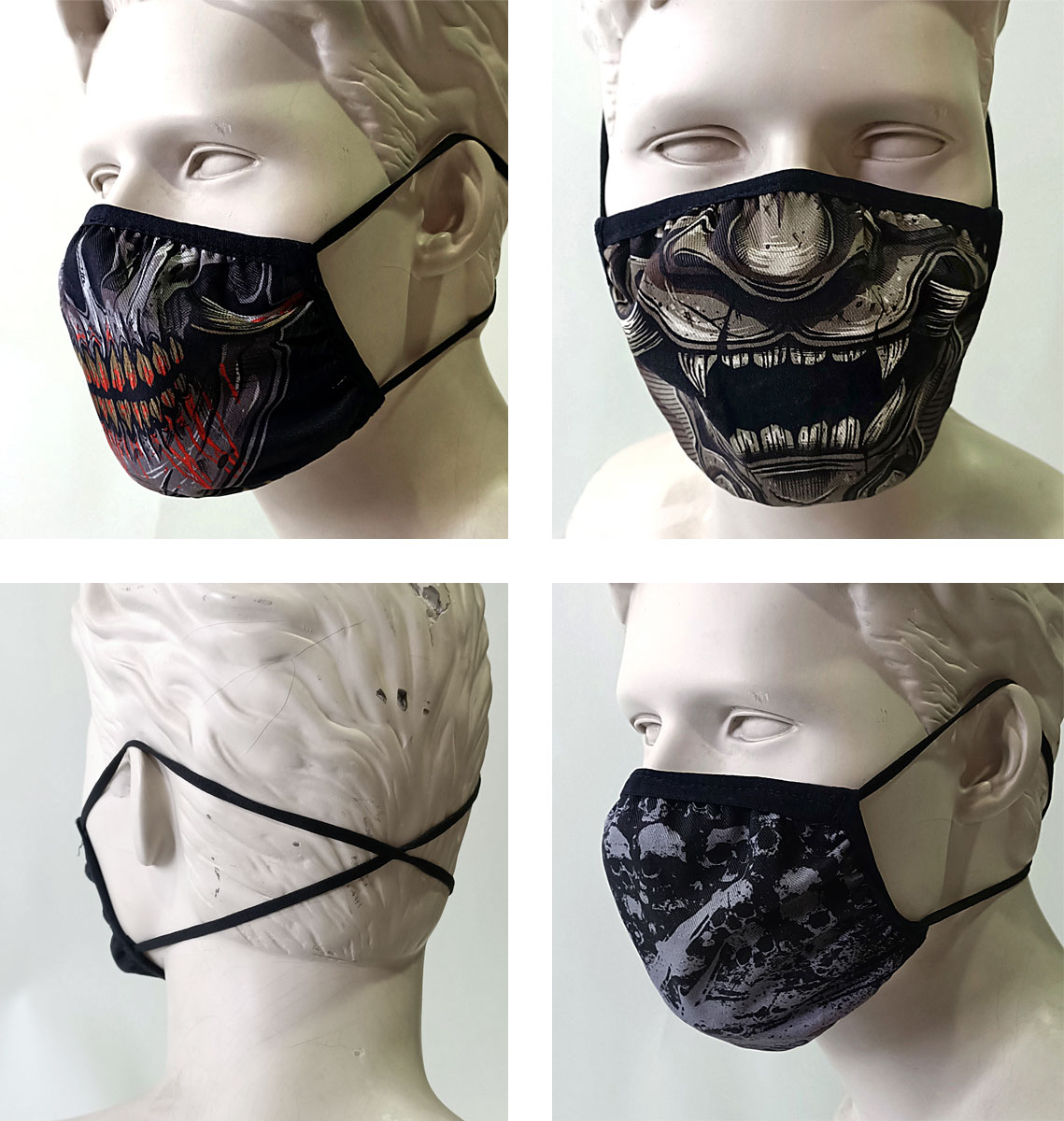Lot de 3 masques T2