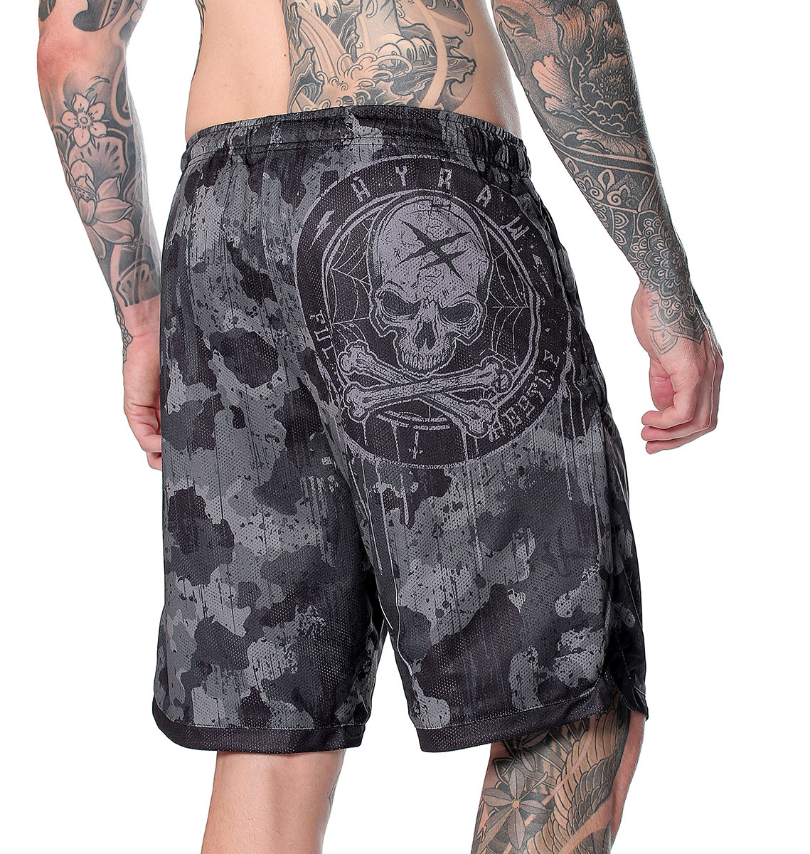 SHORT SPORT REVERSIBLE BLAZON