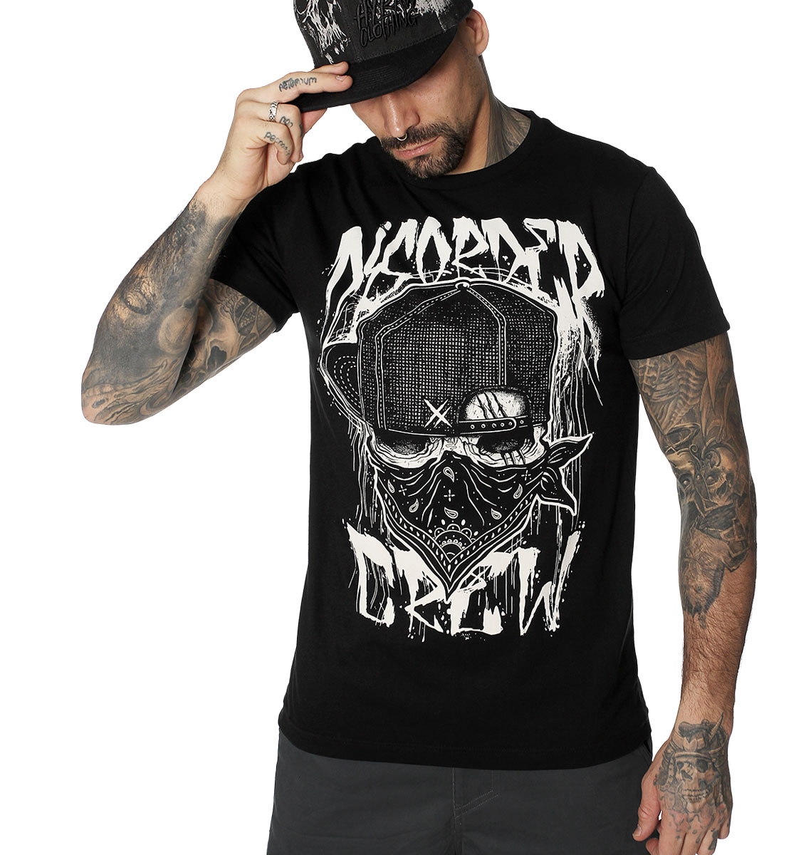 T-SHIRT HOMME DISORDER CREW