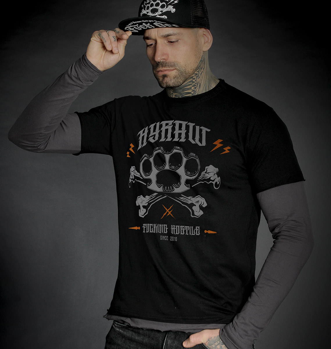 T-shirt LS Knuckleduster