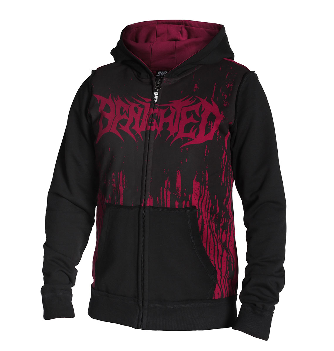 VESTE ZIPPEE HOMME BENIGHTED