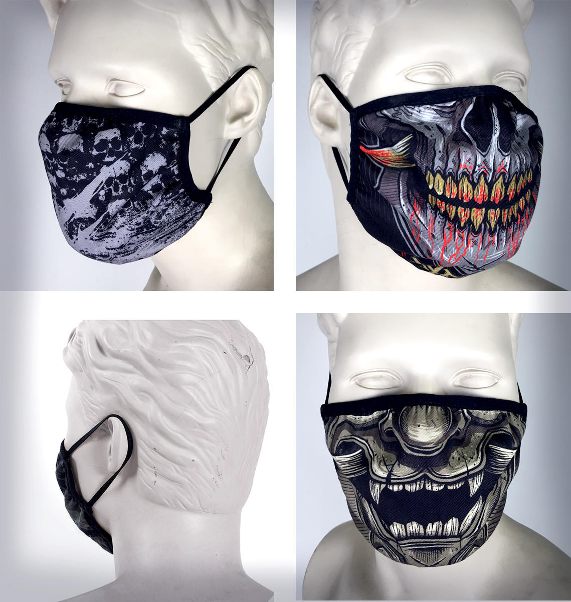 Lot de 3 masques O2.