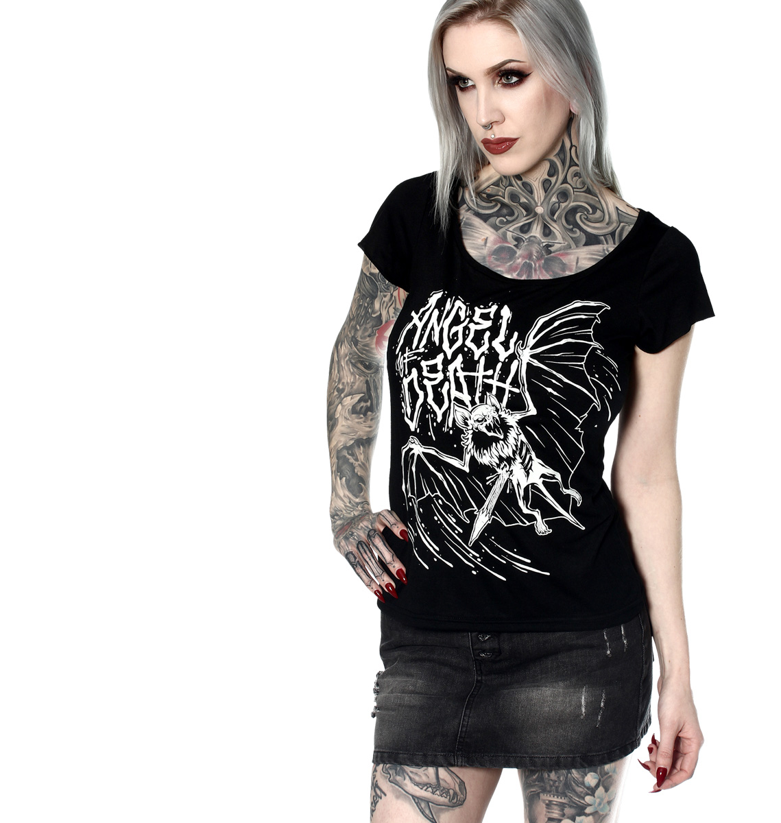 T-SHIRT FEMME ANGEL OF DEATH